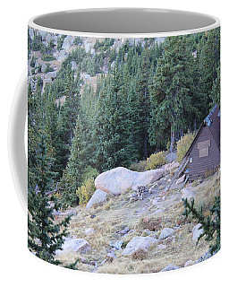 Coffee Mug featuring the photograph The Barr Trail A Frame by Christin Brodie