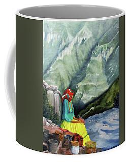 The Basket Maker  Coffee Mug