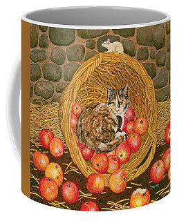 The Basket Mouse Coffee Mug