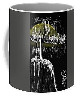 The Bat Guardian Coffee Mug by Jason Nicholas