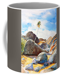 The Baths Palm Tree Coffee Mug