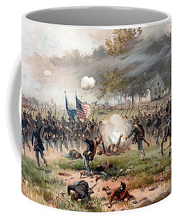 The Battle Of Antietam Coffee Mug