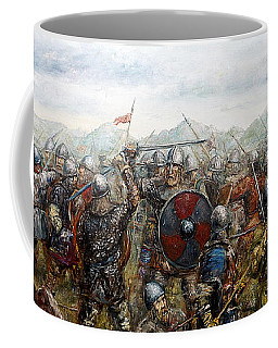 The Battle Of Haugsnes Coffee Mug