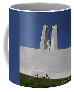 The Battle Of Vimy Ridge Memorial Coffee Mug