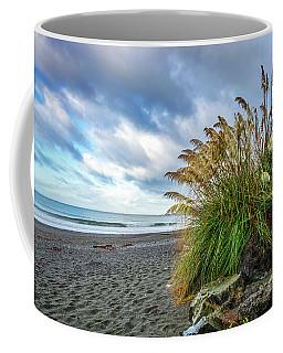 The Beach At Brookings Coffee Mug