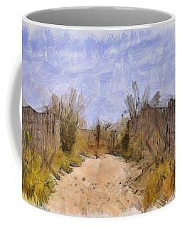 The Beach Awaits Coffee Mug