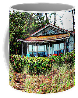 Coffee Mug featuring the photograph The Beach House by Paul Mashburn