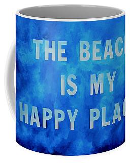 The Beach Is My Happy Place 2 Coffee Mug