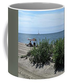 The Beach Coffee Mug by John Scates