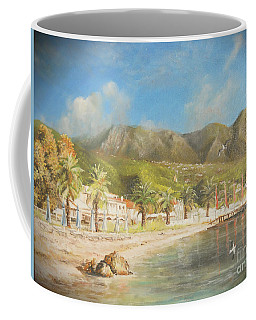 The Beach Of Ipsos Coffee Mug