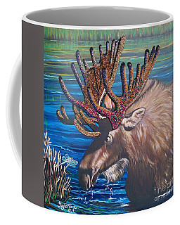 The Beaded Moose Coffee Mug