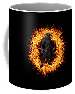 The Beast Emerges From The Ring Of Fire Coffee Mug