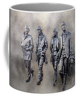 The Beatles Yesterday Coffee Mug by Brian Tarr