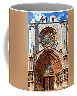 Coffee Mug featuring the photograph The Beautiful Cathedral Of Tarragona by Eduardo Jose Accorinti