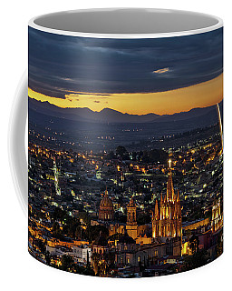 The Beautiful Spanish Colonial City Of San Miguel De Allende, Mexico Coffee Mug