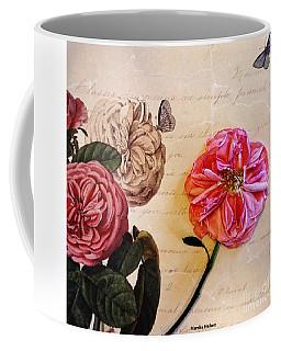 The Beauty Of A Dried Rose Coffee Mug