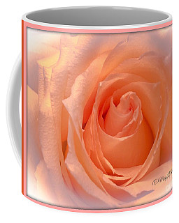 The  Beauty Of A Rose  Copyright Mary Lee Parker 17,  Coffee Mug