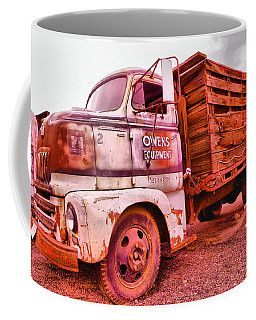 Coffee Mug featuring the photograph The Beauty Of An Old Truck by Jeff Swan