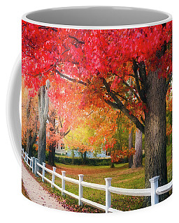 The Beauty Of Autumn In New England Coffee Mug