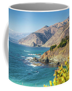The Beauty Of Big Sur Coffee Mug by JR Photography