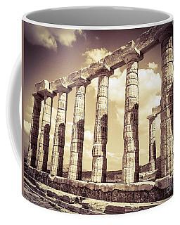 The Beauty Of The Temple Of Poseidon Coffee Mug