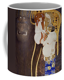 The Beethoven Frieze Coffee Mug