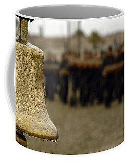The Bell Is Present On The Beach Coffee Mug