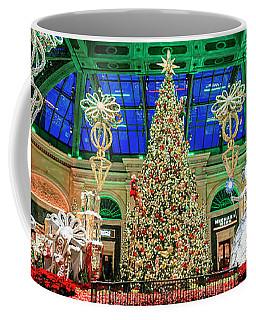 The Bellagio Christmas Tree Panorama 2017 Coffee Mug