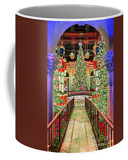 The Bellagio Christmas Tree Under The Arch 2016 Coffee Mug