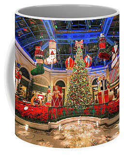 The Bellagio Christmas Tree Wide 2015 Coffee Mug