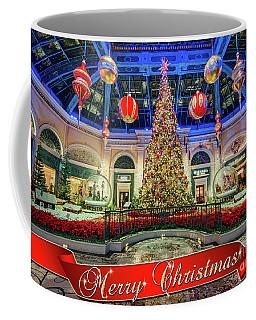 The Bellagio Conservatory Christmas Tree Card 5 By 7 Coffee Mug