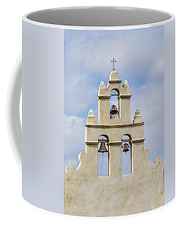 Coffee Mug featuring the photograph The Bells Of San Juan by Mary Jo Allen