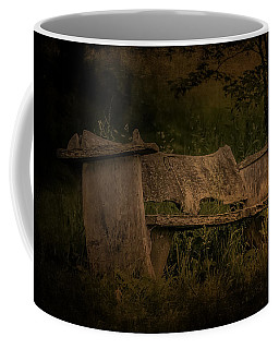 Coffee Mug featuring the photograph The Bench by Ryan Photography