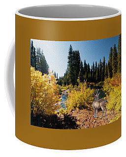Coffee Mug featuring the photograph The Bend Of The Rogue River by Diane Schuster