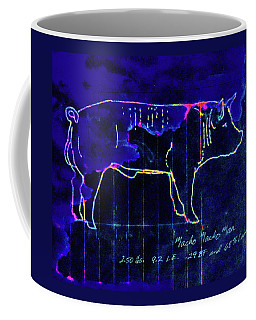 Coffee Mug featuring the drawing The Best Boar  by Larry Campbell