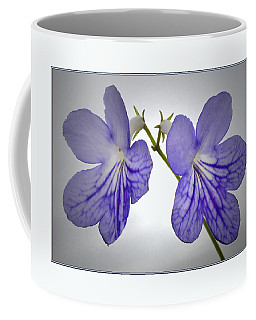 Coffee Mug featuring the photograph The Betham Twins. by Terence Davis