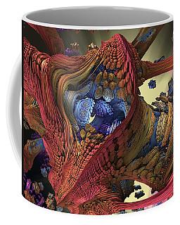 Coffee Mug featuring the digital art The Big Bang by Mary Almond