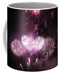 Coffee Mug featuring the photograph The Big Big Boom by Aaron Martens