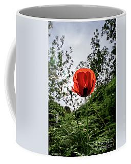 The Big Red 02 Coffee Mug by Arik Baltinester