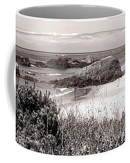 The Big Rock And The Pacific Coffee Mug
