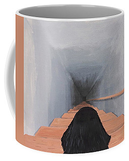 The Big Stairs Go Down Forever Coffee Mug