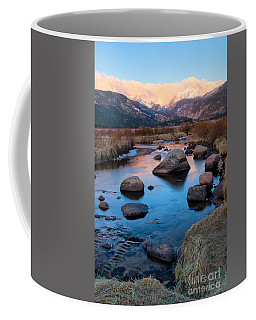 The Big Thompson River Flows Through Rocky Mountain National Par Coffee Mug