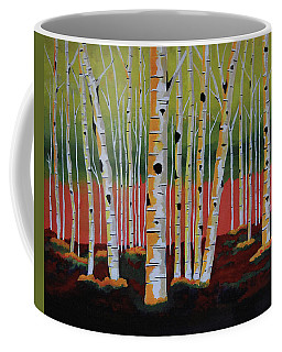 The Birch Forest Coffee Mug
