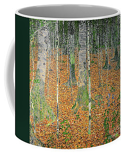 The Birch Wood Coffee Mug