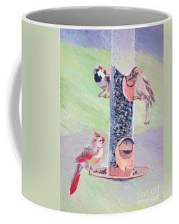 The Bird Feeder Coffee Mug