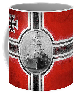 The Bismarck Coffee Mug by JC Findley