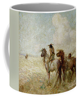 The Bison Hunters Coffee Mug