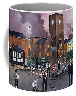 Dudley Trolley Bus Terminus 1950's Coffee Mug