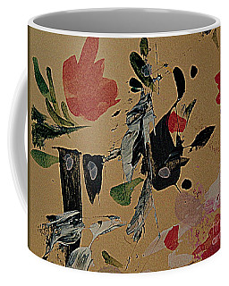 Coffee Mug featuring the painting The Black Fish by Nancy Kane Chapman