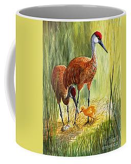 The Blessed Event - Sandhill Cranes Coffee Mug